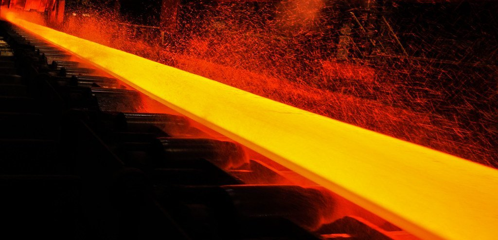 melting steel