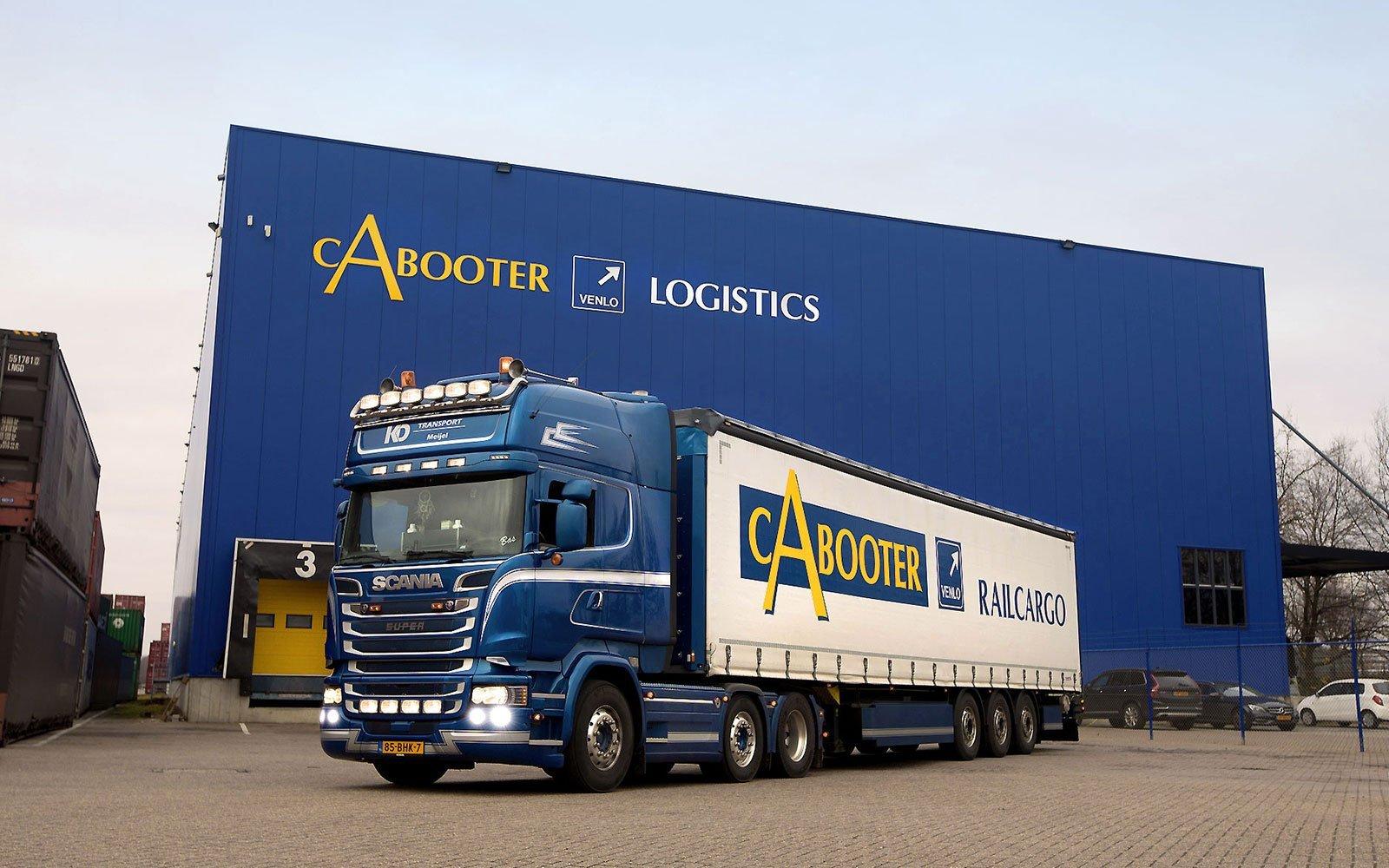 Truck terminal Blerick Cabooter logistics CabooterGroup