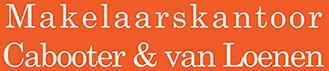 makelaars kantoor cabooter van loenen logo