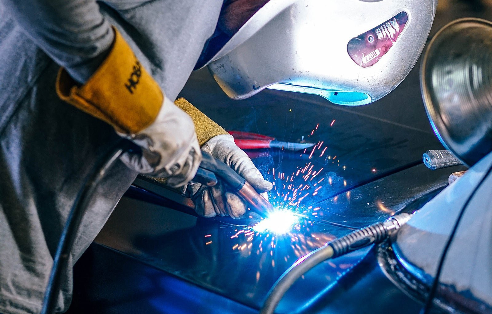 welding iron steal
